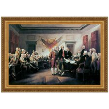 <strong>Design Toscano</strong> Declaration of Independence, 1817 Replica Painting Canvas Art