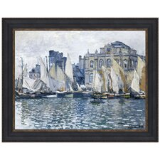 The Museum at Le Havre, 1873 by Claude-Oscar Monet Framed Painting Print