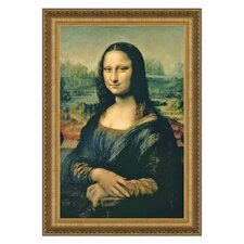 Mona Lisa, 1503-1506 by Leonardo da Vinci Framed Painting Print