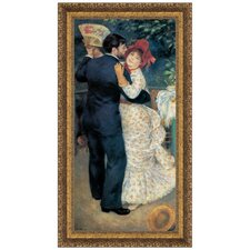 Dance in the Country, 1883 by Pierre-Auguste Renoir Framed Painting Print