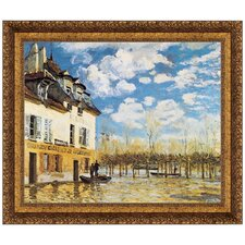 L'inondation a Port-Marly, 1876 by Alfred Sisley Framed Painting Print