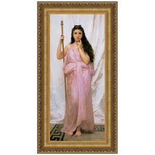 Young Priestess, 1902 by William-Adolphe Bouguereau Framed Painting Print