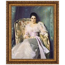 Lady Agnew of Lochnaw, 1893 by John Singer Sargent Framed Painting Print