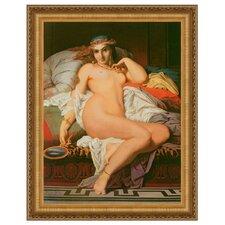 Phyrne, 1850 by Gustave Boulanger Framed Painting Print