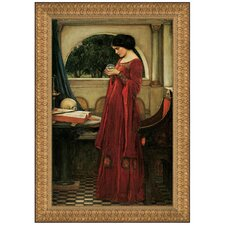 The Crystal Ball, 1902 by John William Waterhouse Framed Painting Print