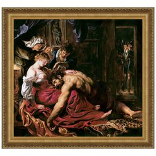 <strong>Design Toscano</strong> Samson and Delilah, 1610 Replica Painting Canvas Art