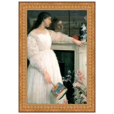 <strong>Design Toscano</strong> Symphony in White No. 2, The White Girl, 1864 Replica Painting Canvas Art