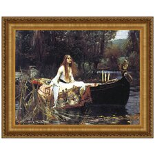 Lady of Shalott, 1888 by John William Waterhouse Framed Painting Print