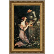 Lamia, 1905 by John William Waterhouse Framed Painting Print