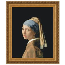 <strong>Design Toscano</strong> The Girl with a Pearl Earring, 1665 Canvas Replica Painting Art