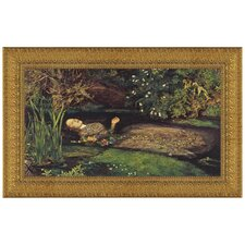 Ophelia, 1851 - 1852 by Sir John Everett Millais Framed Painting Print
