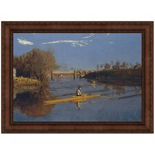 The Champion Single Sculls, 1871 by Thomas Eakins Framed Painting Print