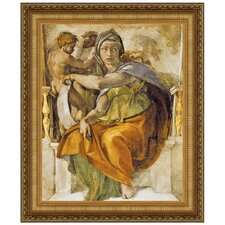 The Delphic Sibyl, 1509 by Michelangelo Buonarroti Framed Painting Print