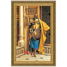 Palace Guard by Ludwig Deutsch Framed Painting Print