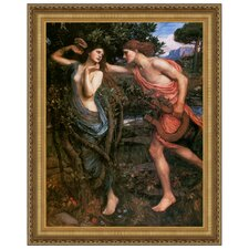 Apollo and Daphne, 1908 by John William Waterhouse Framed Painting Print