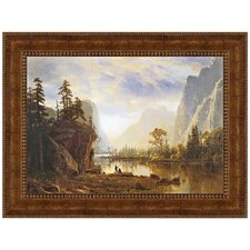 <strong>Design Toscano</strong> Yosemite Valley, 1863 Replica Painting Canvas Art