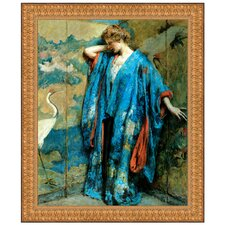 Blue and Yellow, 1910 Replica Framed Painting Print
