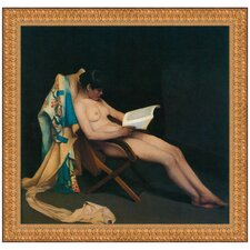 <strong>Design Toscano</strong> The Reading Girl, 1887 Replica Painting Canvas Art