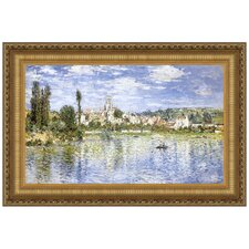 Vetheuil in Summer, 1880 by Claude Monet Framed Painting Print