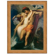 The Fisherman and the Syren, 1858 by Frederic Leighton Framed Painting Print