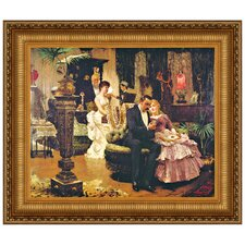 The Conversation Piece by Solomon Joseph Solomon Framed Painting Print