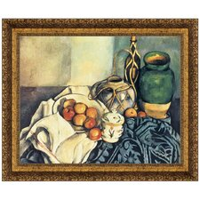 Still Life with Apples, 1894 by Paul Cezanne Framed Painting Print