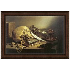 <strong>Design Toscano</strong> A Vanitas Still Life, 1645 Replica Painting Canvas Art