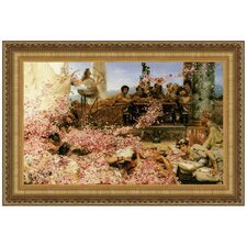 The Roses of Heliogabalus, 1888 by Lawrence Alma-Tadema Framed Painting Print