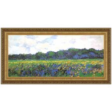 Field of Yellow Irises at Giverny, 1887 by Claude Monet Framed Painting Print