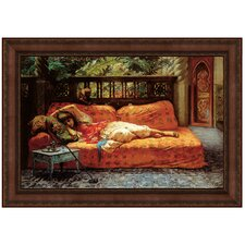 The Siesta (Afternoon in Dreams), 1878 by Frederic Arthur Bridgman Framed Painting Print