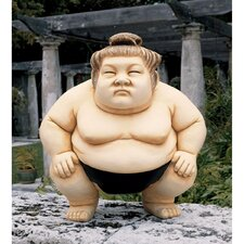 Basho The Sumo Wrestler Statue