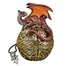 <strong>Design Toscano</strong> Shield of the Celtic Orb Dragon Statue