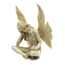 The Secret Garden Gazing Fairy Statue