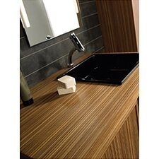 "<strong>Whitehaus Collection</strong> Aeri 43.25"" Wood Unit with Vanity  Top"