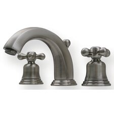 Blairhaus Widespread Mckinley Bathroom Faucet with Double Cross Handles