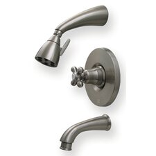 Blairhaus Mckinley Pressure Balance Tub and Shower Faucet