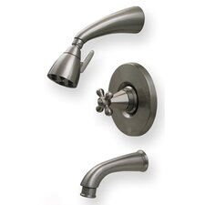 <strong>Whitehaus Collection</strong> Blairhaus Truman Pressure Balance Tub and Shower Faucet