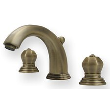 <strong>Whitehaus Collection</strong> Blairhaus Widespread Washington Bathroom Faucet with Double Knob Handles