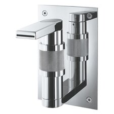 Gesto Single Hole Waterfall Bathroom Faucet Less Handles