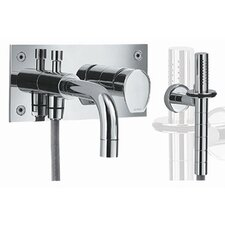 <strong>Whitehaus Collection</strong> Gyro Wall Mount Tub and Shower Faucet