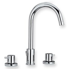 <strong>Whitehaus Collection</strong> Luxe Widespread Bathroom Faucet with Double Handles