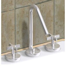 <strong>Whitehaus Collection</strong> Metrohaus Widespread Bathroom Faucet with Double Cross Handles