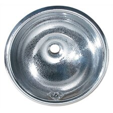 <strong>Whitehaus Collection</strong> Decorative Round Bathroom Sink