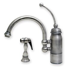 <strong>Whitehaus Collection</strong> New Horizon One Handle Single Hole Kitchen Faucet