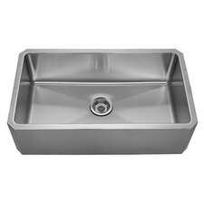 "Noah's 31.63"" x 18.13"" Front - Apron Single Bowl Undermount Kitchen Sink"