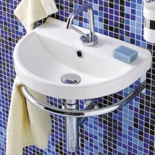 China U-Shaped Wall-Mount Bathroom Sink