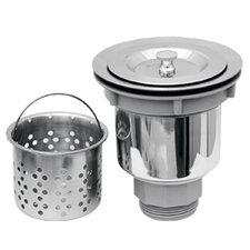 Basket Strainer with Deep Removable Basket