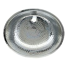 Decorative Undermount Oval Ball Pein Bathroom Sink
