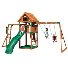 Capitol Peak All Cedar Swing Set