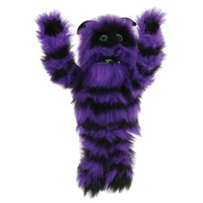 Monster Puppet in Purple and Black